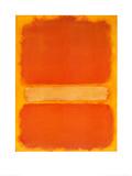 Zonder titel Print van Mark Rothko