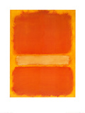 Untitled, c.1956 高品質プリント : マーク・ロスコ
