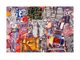 Mixed Moments, September 22, c.1976 Prints by Jean Dubuffet
