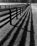 Fences and Shadows, Florida Prints by Monte Nagler