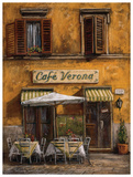 Cafe Verona Posters by Malcolm Surridge