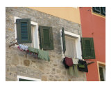 Italian Laundry Photographic Print by Stephanie Elenbaas