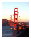 Golden Gate Good Morning Photographic Print by Melanie Vowles