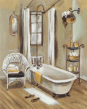 French Bath II Art by Silvia Vassileva