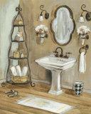 French Bath I Affiches par Silvia Vassileva