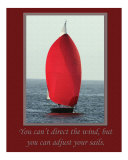 Adjust Sails Photographic Print by Scott Kuehn