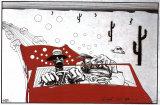 Ralph Steadman - Strach a hnus vLas Vegas Plakát