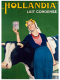 Hollandia Milk Giclee Print by Rene Lelong