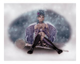 Little Ice Princess Photographic Print by Antje Darling