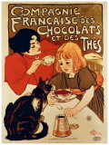 Compagnie Francaise Giclee Print by Théophile Alexandre Steinlen