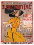 Sirop, Fruit Thé Giclee Print