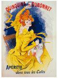Quinquina Dubonnet Lámina giclée por Jules Chéret