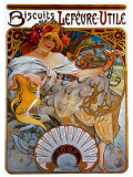 Lefevre Utile Giclee Print by Alphonse Mucha