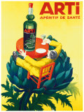 Aperitif Arti Giclee Print by  Robys (Robert Wolff)