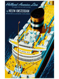 Holland America Line Giclee Print