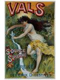 Eau Minerale Vals Giclee Print by  Courchez