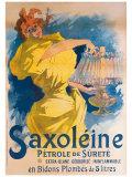 Saxoleine Petrole de Surete Giclee Print by Jules Chéret