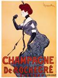 Champagne de Rochecre Giclee Print by Leonetto Cappiello