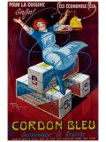 Henry Le Monnier - Cordon Bleu Digitálně vytištěná reprodukce
