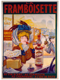 La Framboisette Giclee Print by Francisco Tamagno
