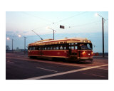 Toronto Streetcar Photographic Print by Andrew Fare