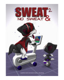 Sweat & No Sweat 2 Photographic Print by Fred May