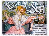Elixir de Spa Giclee Print