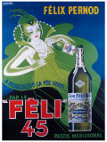 Pernod Felix 45 Giclee Print by Raymond Ducatez