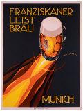 Bierre Munich Giclée-tryk af Edmond Maurus
