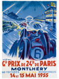 Grand Prix de Montlhery ジクレープリント : ジョージ・ハム