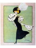 Skating, 1930 Giclee Print