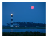 Moonset Photographic Print by Frank Tozier