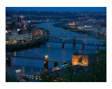 Monongahela River, Pittsburgh Photographic Print by Frank Tozier