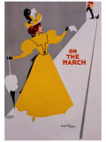 On the March Giclee Print by Ritchie 