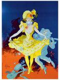 Karneval Lámina giclée por Jules Chéret