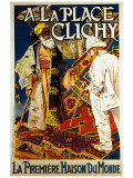A la Place de Clichy Giclee Print
