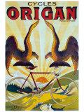 Cycles Origan Giclée-Druck von Raoul Vion