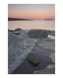 Sunset at the coast Photographic Print by Mikael Svensson