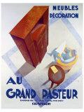 Meubles au Grand Pasteur Giclée-Druck von C. Villot