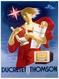 Ducretet Thomson Giclée-Druck