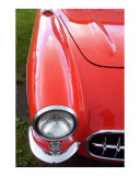 Lil' Red Corvette Photographic Print by Wolf Yoder