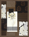 Chocolate Magnolia I Prints by Nicole Marley