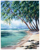 Coral Beach Prints by Lois Brezinski