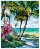 Peaceful Retreat Prints by Lois Brezinski