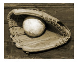 Ball & Glove - Landscape Photographic Print by James Davidson