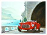 Ferrari Barchetta Roadster Giclee Print by Bill Northup