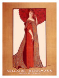 Adelaide Hermann Queen of Magic Giclee Print