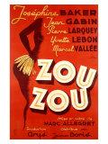 Josephine Baker, Zou Zou Giclee Print
