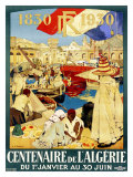 Century French Colony Algiers Giclee Print