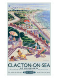 British Railway Clacton on Sea Giclee Print